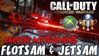 Exo Zombies on Carrier EASTER EGG COMPILATION▐ Flotsam & Jetsam Trophy/Achievement Guide