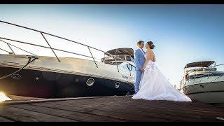 Свадебная фотосессия Артема и Марины в яхт-клубе. Отзыв.