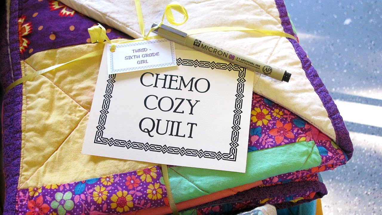 Chemo Cozy Quilts - YouTube : quilt patterns for cancer patients - Adamdwight.com