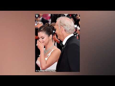 Selena Gomez KISSES Bill Murray at the Cannes Film Festival Opening Ceremony 2019