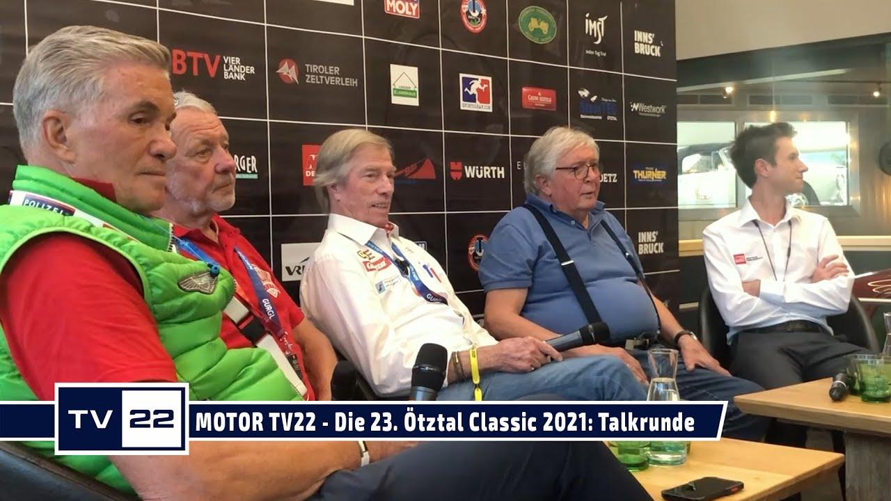 MOTOR TV22: Die 23. Ötztal Classic 2021 - Die Talkrunde