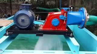 Pico Cross Flow Turbine running on a test bench-2-Silverboat Technologies