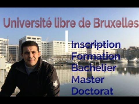 Université libre de Bruxelles : Etudes en Belgique الدراسة في بلجيكا جامعة بروكسل
