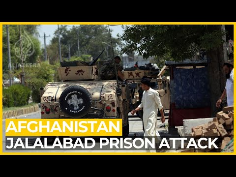 Gunmen storm prison in Afghanistan's Jalalabad, over 20 killed