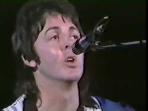 Paul McCartney Blackbird Live (Wings)