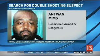 Michigan double shooting suspect may be headed toward Indy