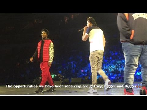 Vlog 6: Performed with Kap G at Chris Brown #PartyTour
