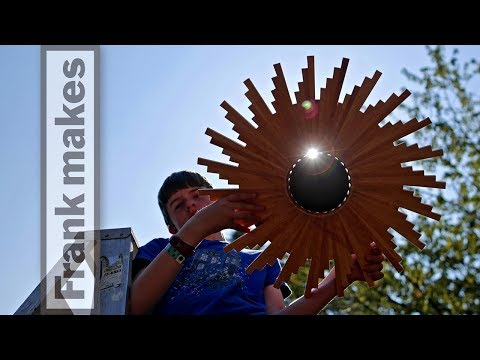 Woodworking the Solar Eclipse