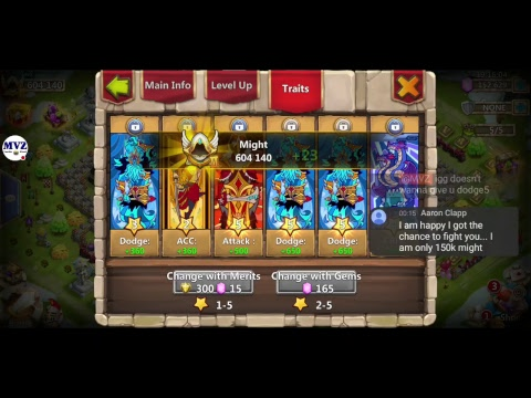 Come, Watch How Amazing New Hero COSMO Is! Castle Clash