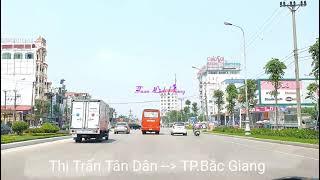 TP Bắc Giang 2019 |Trải Xong Đường BĐS Tuyến Tân Dân Đi Bắc Giang Tăng