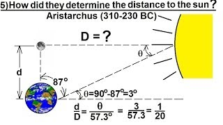 Astronomy - Measuring Distance, Size, and Luminosity (5 of 30) Distance to Our Sun: 1