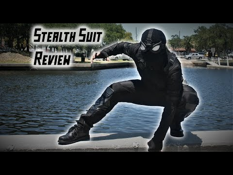 Spider-Man: Far From Home STEALTH SUIT Review!