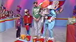 Anthony and Tony on the Bozo Show