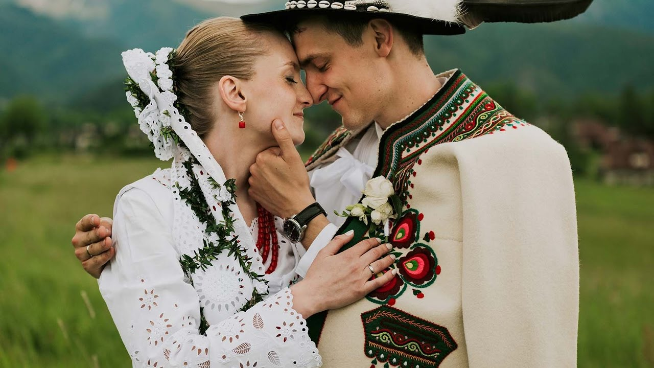ślub Góralski Alicja Karol Zakopane Wedding Highlights Youtube