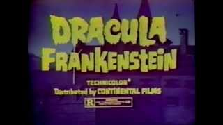 Scars of Dracula & Horror of Frankenstein 1971 TV trailer