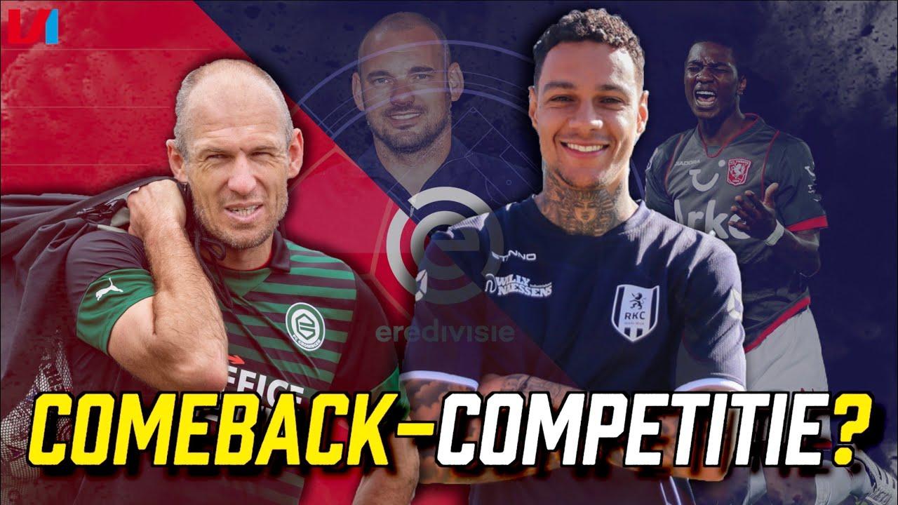 TRANSFERTALK! Eredivisie Met Elia, Sneijder, Robben en Van der Wiel de Nieuwe Senioren Competitie?