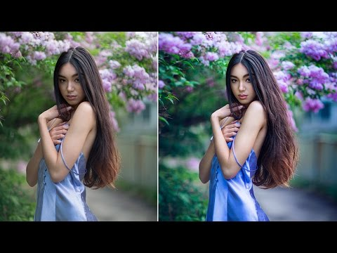 How Edit Natural Light Portraits In Oshop