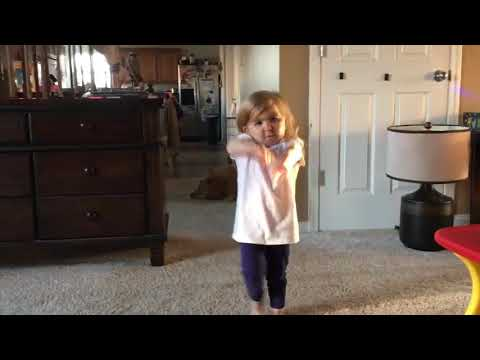 Justin Bieber baby baby song dance by funny baby