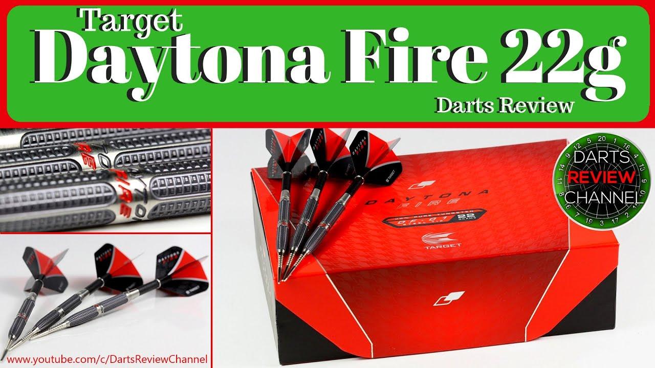 Target Daytona Fire DF01 Titanium Nitride 95/% Tungsten Darts