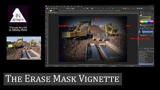 The Erase Mask Vignette (The Fastest, Easier, Most Flexible, Non-Destructive Method)