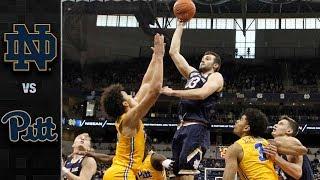 Notre Dame vs. Pittsburgh Basketball Highlights (2018-19)