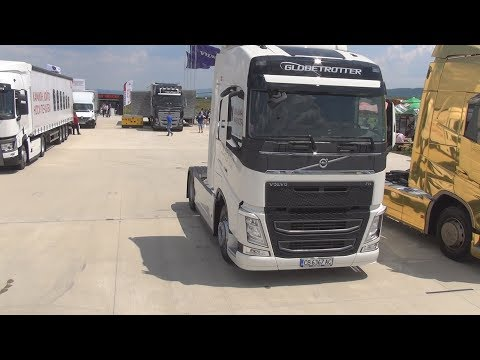 Volvo FH 500 Special Edition Globetrotter (2015) Exterior And Interior