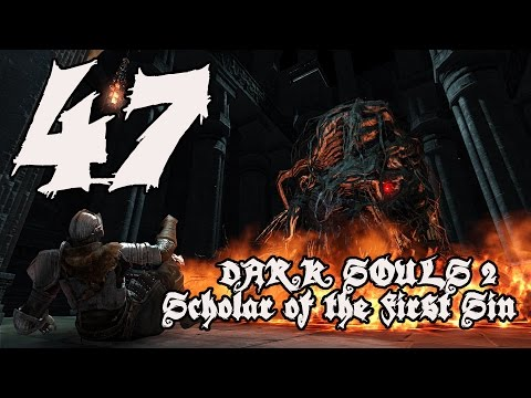 Dark Souls 2 Scholar of the First Sin - Walkthrough Part 47: Brume Tower