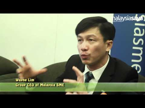 Interview with Wayne Lim, CEO of Malaysia SME - SME Congress 2012,