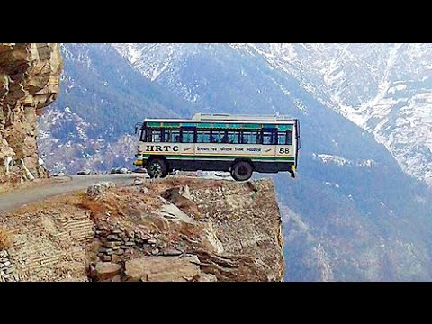 Worlds Most Dangerous Beautiful Road Shimla To Manali