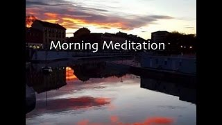 Guided Morning Meditation for Inspiration & Positive Energy Rob's Hypnosis Session 112 No3