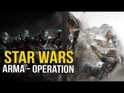 Star Wars - The Clone Wars Rescue Mission (Arma 3)