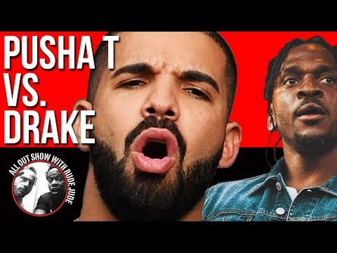 Drake Vs. Pusha T: Infrared Vs Duppy Freestyle   All Out Show