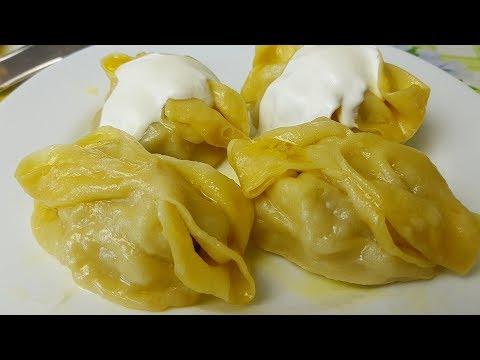 Манты сочные цыганка готовит. Gipsy cuisine. - Познавательные и прикольные видеоролики