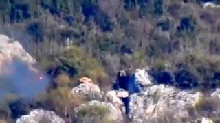 Охота на боевиков ИГИЛ в горах.Террористы,как мишени в тире