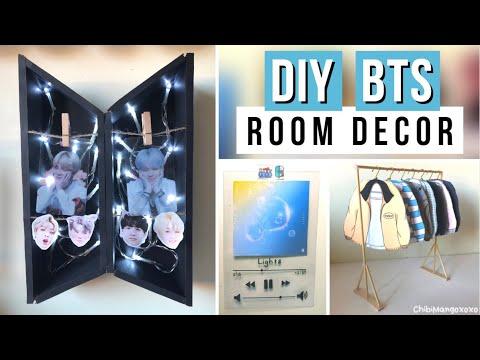 DIY BTS Room Decor Ideas! - YouTube on Room Decor Bts id=34048