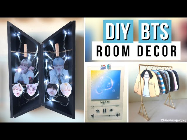 Diy Bts Room Decor Ideas Youtube