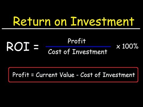 How To Calculate The Return On Investment (ROI) Of Real Estate & Stocks