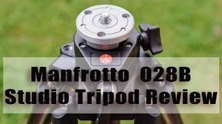 Manfrotto 028B Studio Tripod Review