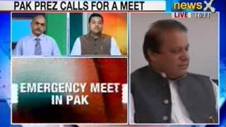 Pakistan Vs India: Nawaj sharif calls an emergency meeting in Pakistan