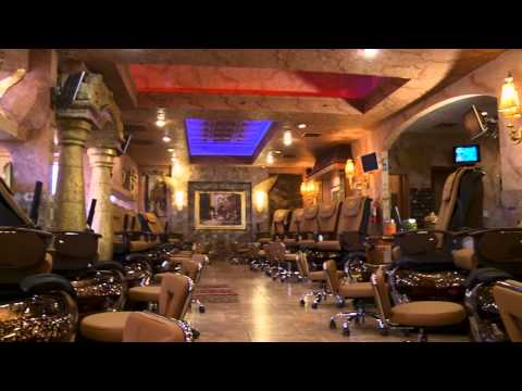 Hollywood Nails & Spa promotional video Dallas TX