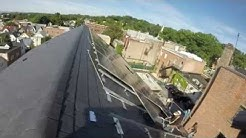 Rooftop Solar Panel Installation Time Lapse Video for the Tarrytown Music Hall