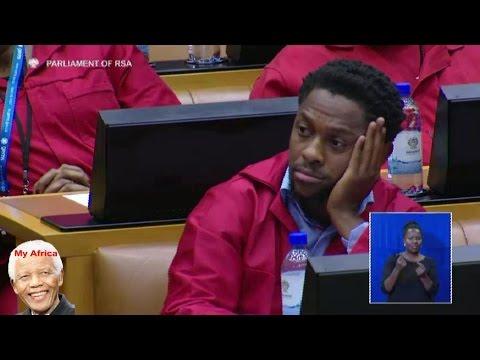 Jacob Zuma Explains A Fee Free University To Ndlozi Of The EFF