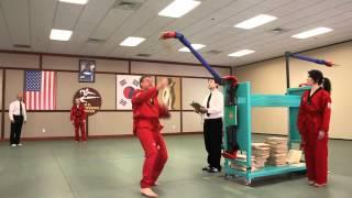 U.S. Open Taekwondo Hanmadang-Individual Jumping High Kick Breaking (2012)