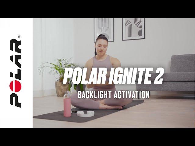 Polar Ignite 2 | Backlight activation