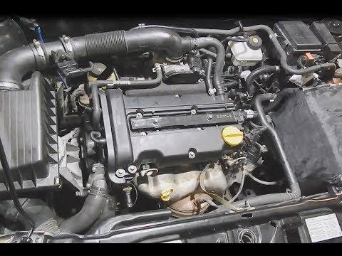 Opel Astra Z14XEP. Шум, стук, дизельный звук в двигателе.