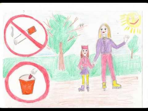 Конкурс рисунков Мы за здоровый образ жизни