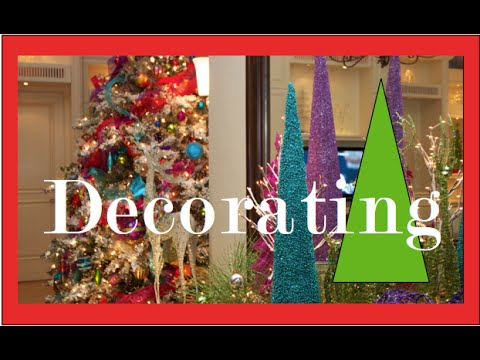 colorful christmas tree decorations christmas decorating - Colorful Christmas Decorations