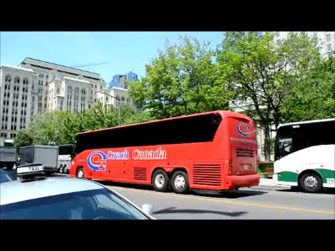 COACHES DRIVING IN MONTREAL CANADA