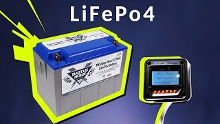 How to Program Charge Controller for Lithium Batteries (MPPT v PWM | LiFePo4)