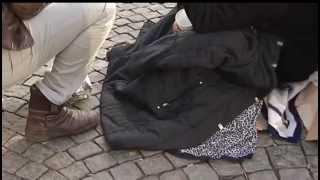 Romska tiggare hyr tiggarplatser till ockerpriser